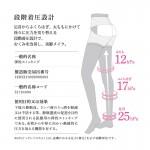 Be-Fit 日本光電子全腿激瘦襪 L