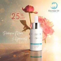 母親節優惠 Eternus-D Aqua Hydration Serum Therapy 高效深層保濕精華 35ML 75折