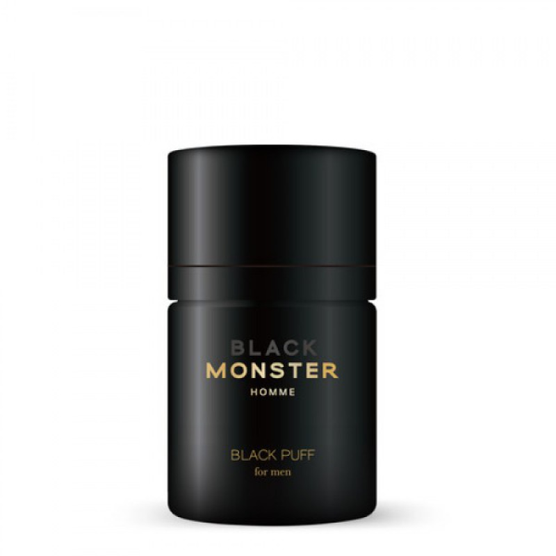 Black Monster Black Puff 禿頭救星 頭髮修飾陰影粉 (黑色)