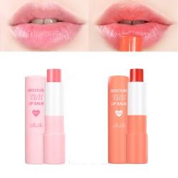 Rire 保濕潤色潤唇膏 (粉紅/珊瑚橙)