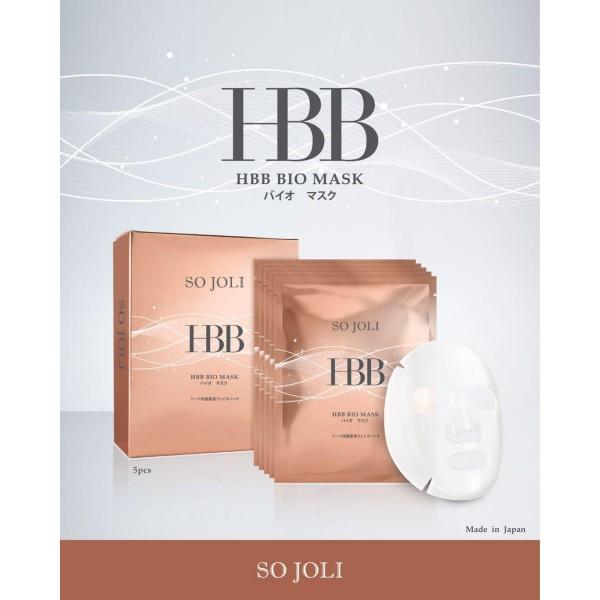 So Joli 日本HBB美肌菌細胞再生面膜 $599/3盒