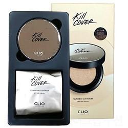 Clio Kill Cover Founwear Cushion XP 魔力長效無瑕氣墊粉底-魔鏡升級版