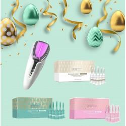 極光機強力保濕嫰膚套裝 極光機+種水膜+嫰肌針+素顏美白針