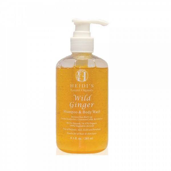 Heidi's Wild Ginger Shampoo & Body Wash 野薑沐浴洗髮露 285ml