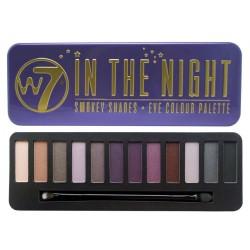 W7  eye shadow palette 12色高質顯色眼影盤