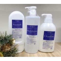 日本 Cellreva 幹細胞抗皺美白卸妝潔面爽膚水套裝 銀座美容沙龍專用高級產品