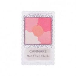 CANMAKE Mat Fleur Cheeks 花漾柔啞胭脂 (01 杏桃粉紅)