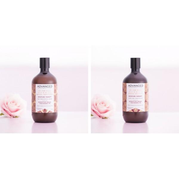 ADVANCED COSMETICA MOISTURE THERAPY  水光髮深層滋潤洗髮水/護髮素