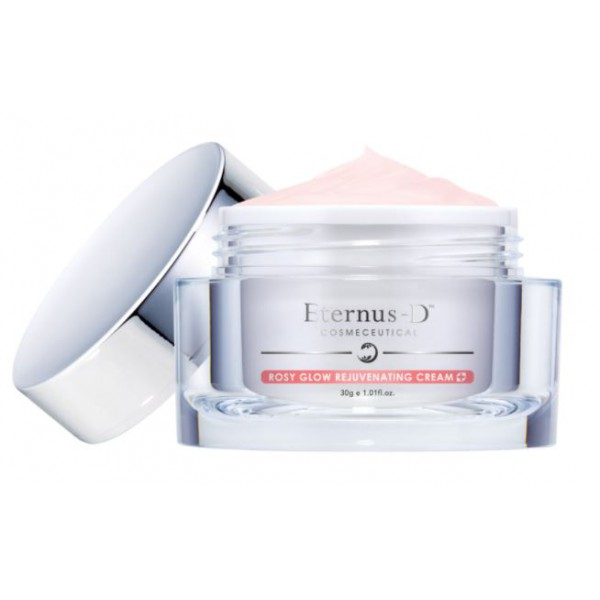 Eternus-D ROSY GLOW REJUVENATING CREAM 粉嫩注養活肌面霜 30G