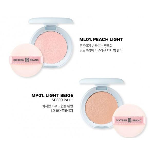 16 Brand Mochi Pact SPF30 / PA +++