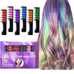 韓國6色染髮梳 Mini Hair Color Comb