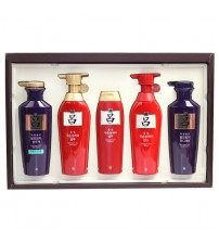 愛茉莉 呂Ryo 洗護套裝紅呂+頂級紫呂 節日禮盒裝 1套5枝