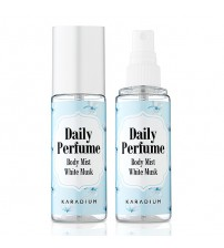 Karadium  Daily Perfume Body Mist 身體潤膚淡香水 # White Musk  經典白麝香