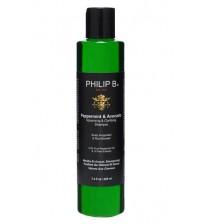 Philip B 薄荷酪梨鱷梨控油豐盈澄淨洗髮水 350ml 荷李活巨星推崇草本美髮品牌