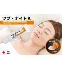 日本TSUBU NIGHT PACK 去眼部油脂粒夜間修護眼膜30g