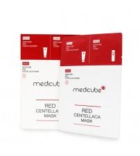 Medicube Red Centellaca Mask 積雪草去印美白修復面膜 1盒10片